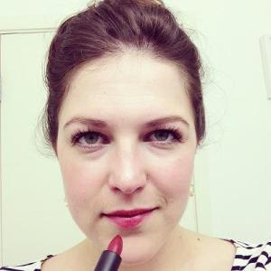 Vincent Longo Lipstain Lipstick in Cherry